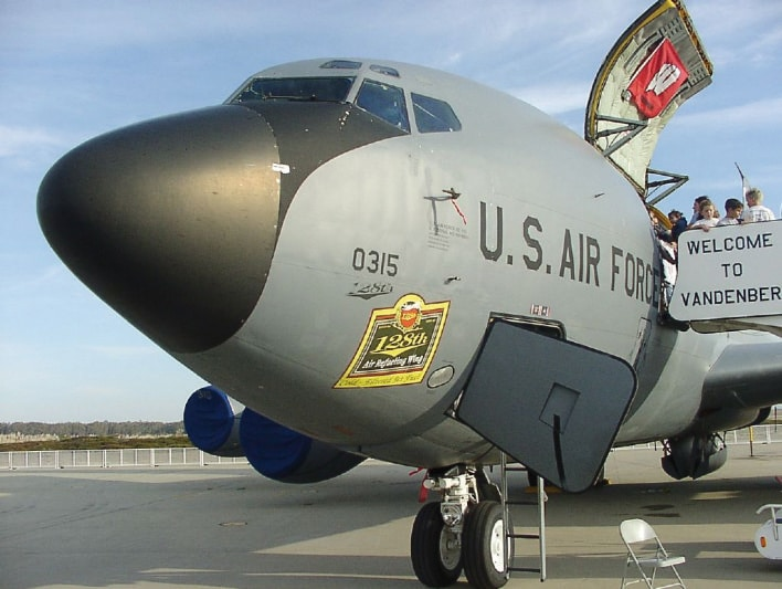 KC-135 Crew Entry Door