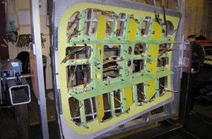 KC135 Crew Door Interior