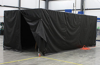 15'x20' Mag Particle and Penetrant Booth